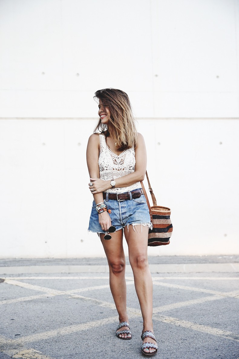 Mulafest-Lace_Top-Levis_Vintage-Maje_Sandals-Urban_Outfitters_Bag-Outfiit-Summer-