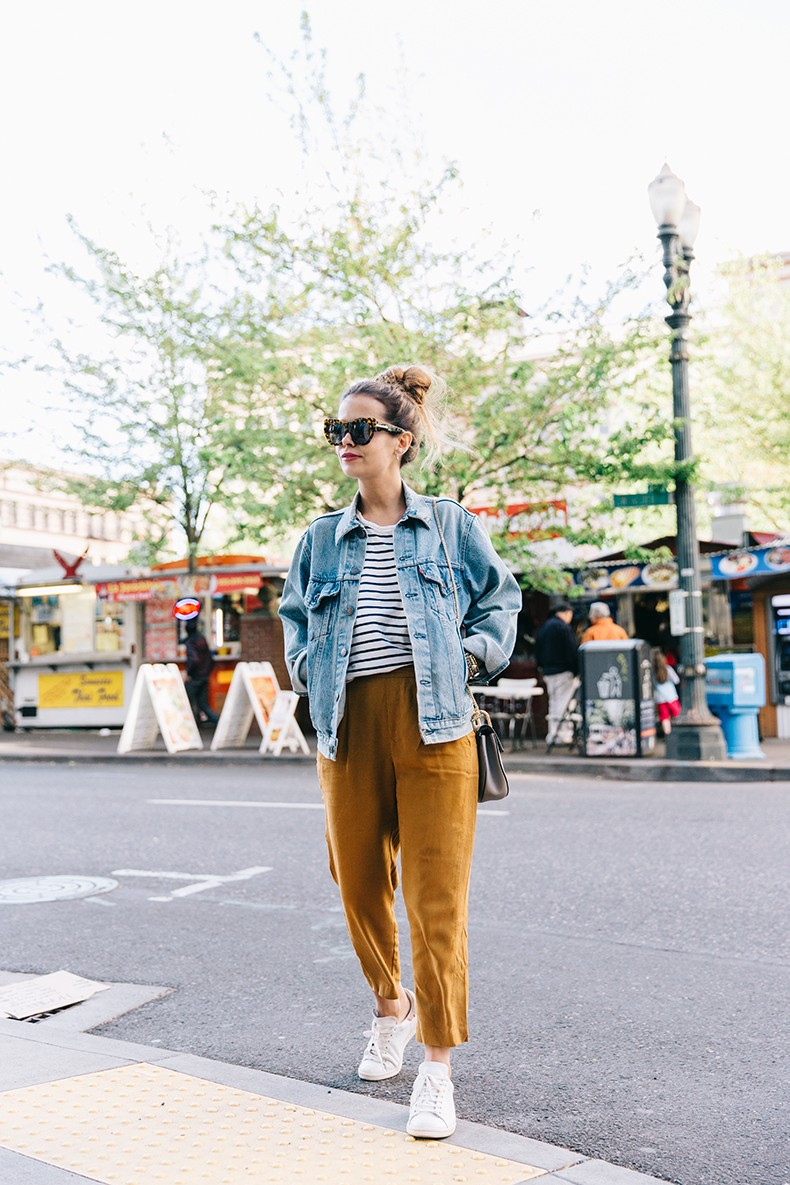 Portland-Striped_Top-ISabel_Marant_Sneakers-Denim_Jacket-Collage_on_The_Road-Street_Style-Usa_Road_Trip-19