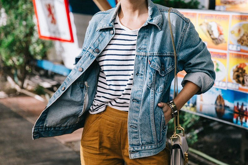 Portland-Striped_Top-ISabel_Marant_Sneakers-Denim_Jacket-Collage_on_The_Road-Street_Style-Usa_Road_Trip-35