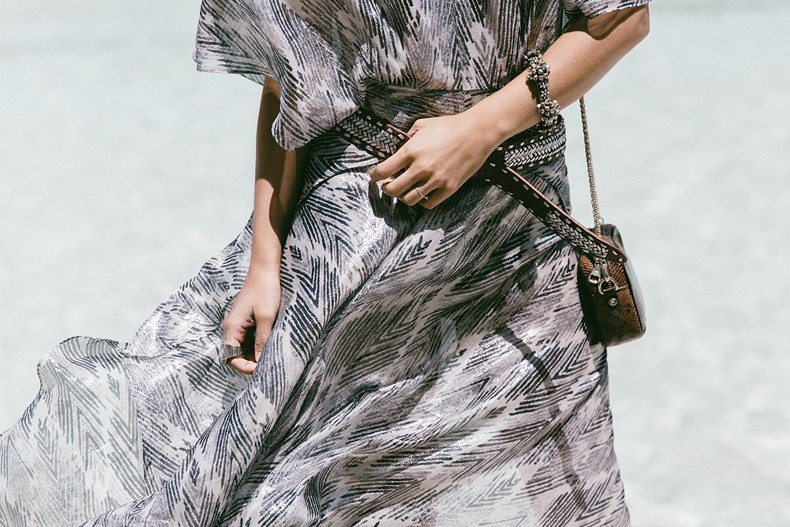 Tomorrowland-Valencia-Maje-Long_Dress-Snake_Bag-Silver_Sandals-Outfit-Street_Style-19