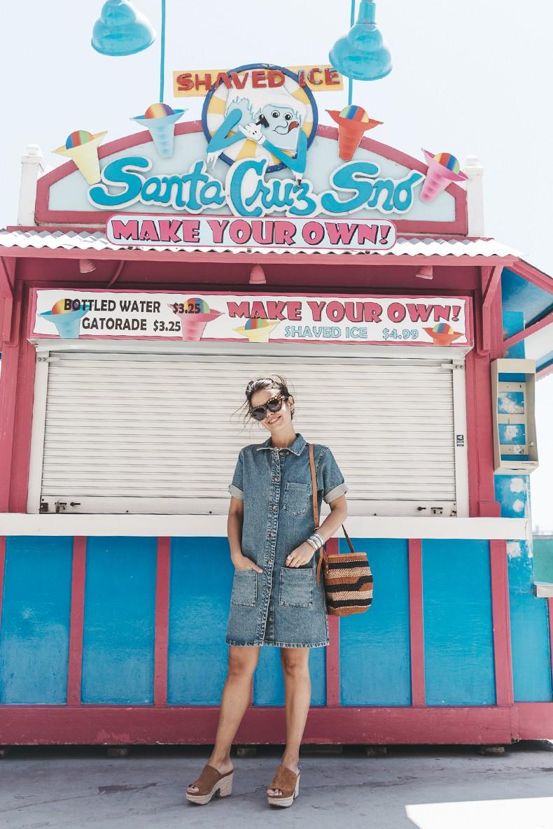 BoardWalk-Santa_Cruz-Denim_Dress-Topshop-Suede_Clogs-Street_Style-Outfit-26