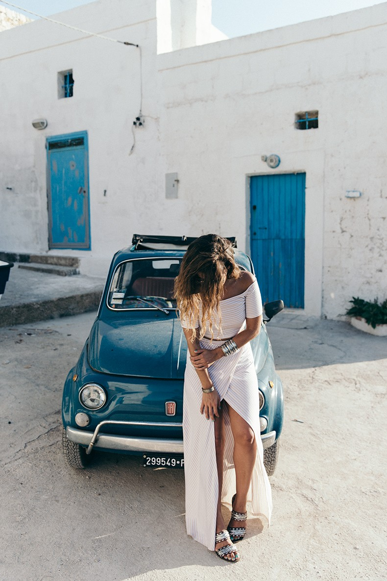 Guerlain-Terracotta-Summer_2015-Polignano_a_Mare-Fiat_600-Striped_Suite-Sabo_Skirt-Crop_Top-Summer-Ray_Ban_Sunnies-Summer-Outfit-Collage_Vintage-32