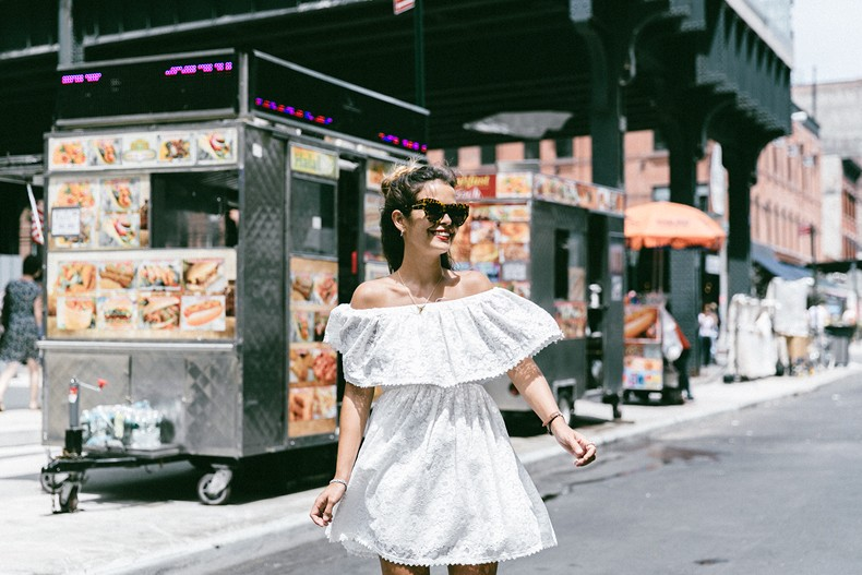 New_York-Off_The_Shoulders-Lace_Dress-Chicwish-Outfit-Wavy_Hair-Outfit-Street_Style-White_Dress-Collage_VIntage-11