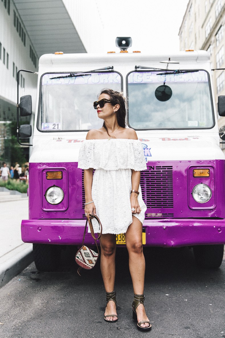New_York-Off_The_Shoulders-Lace_Dress-Chicwish-Outfit-Wavy_Hair-Outfit-Street_Style-White_Dress-Collage_VIntage-24