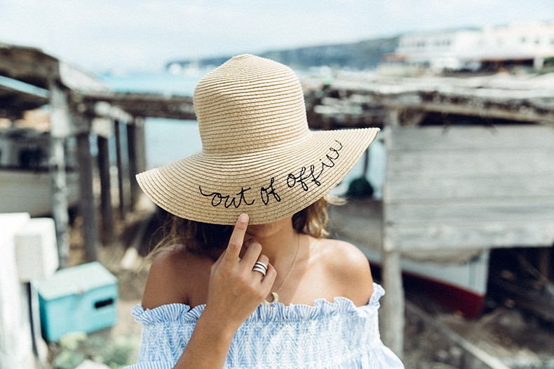 Straw_hat-Reformation-Striped_Dress-Off_The_Shoulders-Castaner_Espadrilles-Summer_look-Formetera-Collage_on_The_Road-22