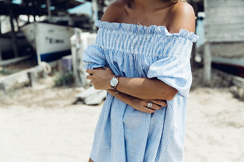 Straw_hat-Reformation-Striped_Dress-Off_The_Shoulders-Castaner_Espadrilles-Summer_look-Formetera-Collage_on_The_Road-26