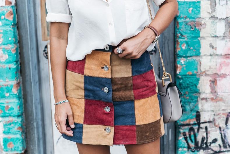 Patchwork Skirt | Collage Vintage