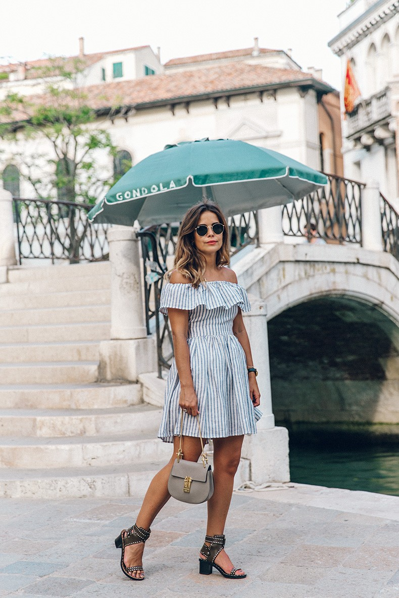 Venezia-Striped_Dress-Off_The_Shoulders-Collage_On_The_Road-Chloe_Bag-Outfit-53
