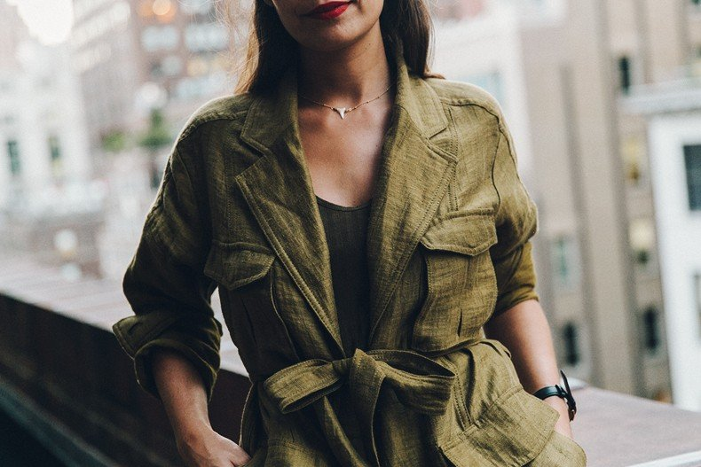 Khaki_Outfit-New_York-Where_To_Stay-NH_Hotels-Saint_Laurent_Bag-22