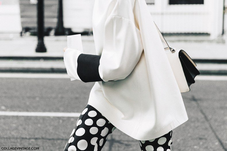 London_Fashion_Week-Spring_Summer_16-LFW-Street_Style-Collage_Vintage-Black_And_White-