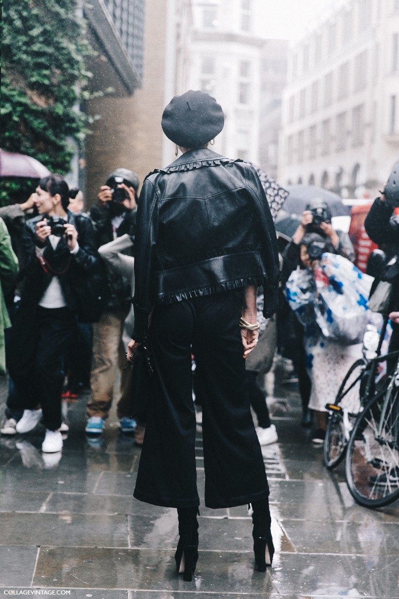 London_Fashion_Week-Spring_Summer_16-LFW-Street_Style-Collage_Vintage-Erin_Wasson-Leather_Jacket-Frenchy_Hat-10