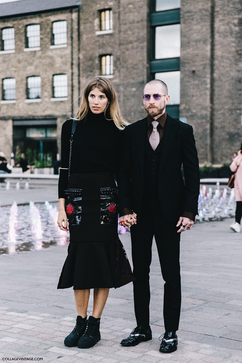 London_Fashion_Week-Spring_Summer_16-LFW-Street_Style-Collage_Vintage-Justin_Oshea-Veronika_Heilbrunner-