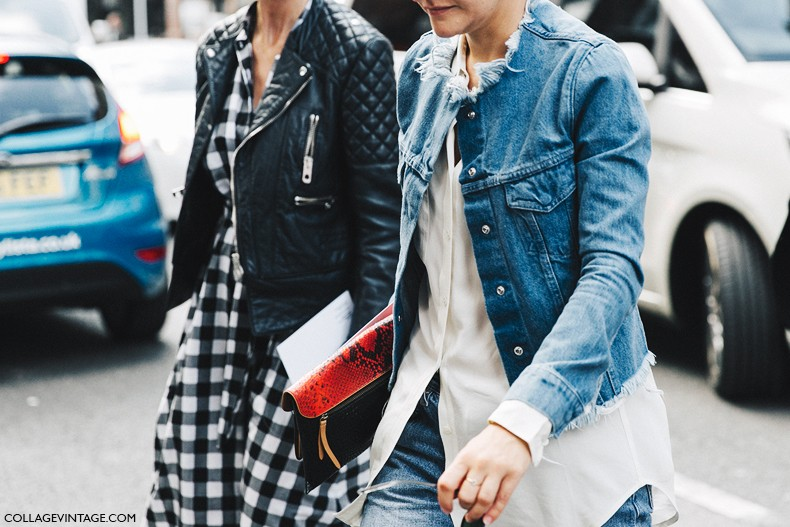 London_Fashion_Week-Spring_Summer_16-LFW-Street_Style-Collage_Vintage-Marques_Almeida-Denim_Jacket-