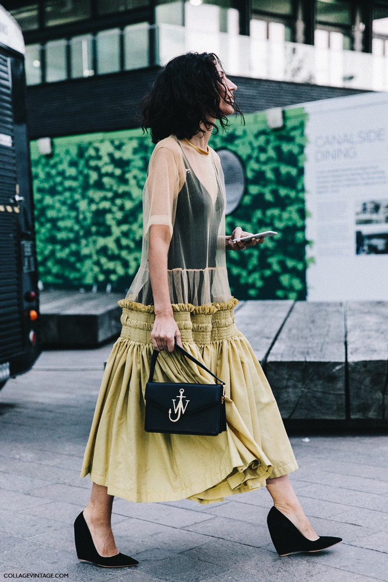 London_Fashion_Week-Spring_Summer_16-LFW-Street_Style-Collage_Vintage-Yasmin_Sewell-JW_Anderson_Bag-2