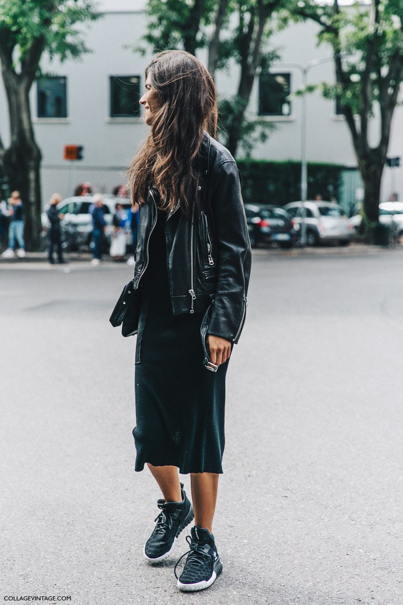 MFW-Milan_Fashion_Week-Spring_Summer_2016-Street_Style-Say_Cheese-Chiara_Totire-Biker_Jacket-Sneakers-