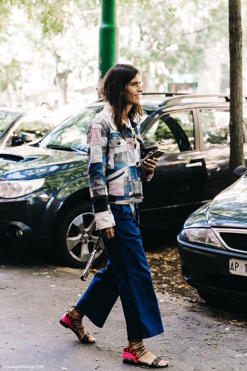 MFW-Milan_Fashion_Week-Spring_Summer_2016-Street_Style-Say_Cheese-Chiara_totire-Denim_Patchwork-1