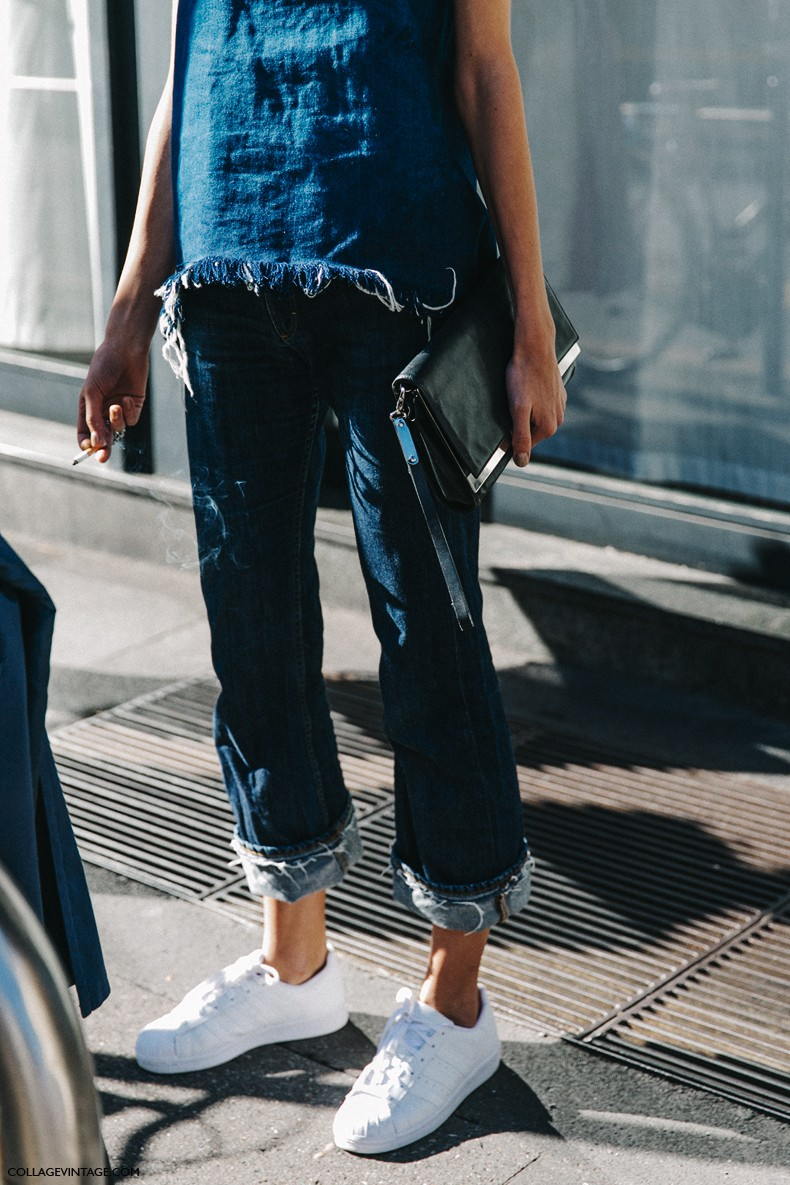 MFW-Milan_Fashion_Week-Spring_Summer_2016-Street_Style-Say_Cheese-Denim_Sneakers-