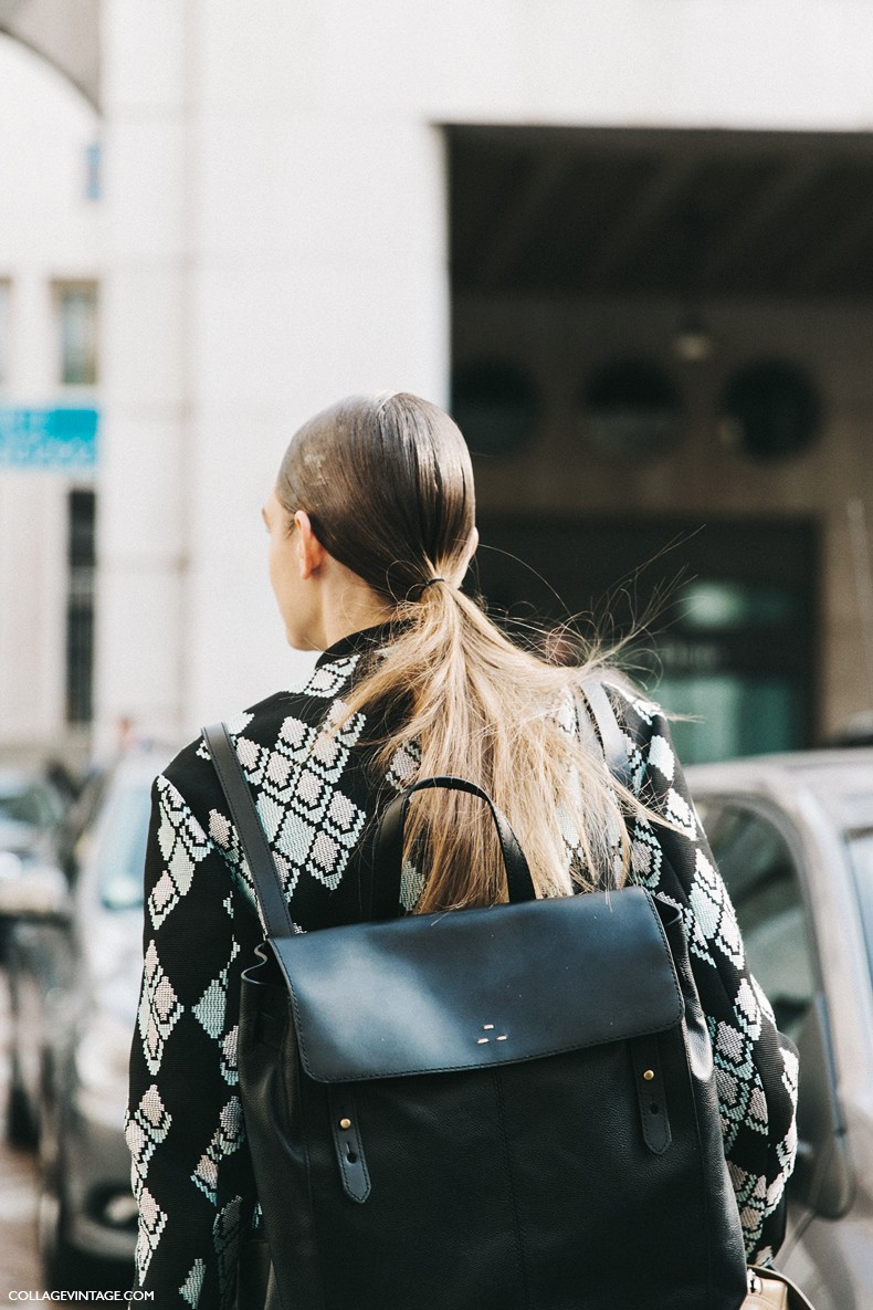 MFW-Milan_Fashion_Week-Spring_Summer_2016-Street_Style-Say_Cheese-Ferragamo-Model-Ponytail-1