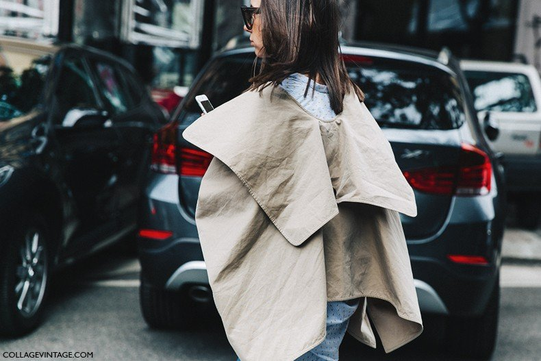 MFW-Milan_Fashion_Week-Spring_Summer_2016-Street_Style-Say_Cheese-Natasha_Goldenberg-Trench_Coat-Blue_Shirt-16