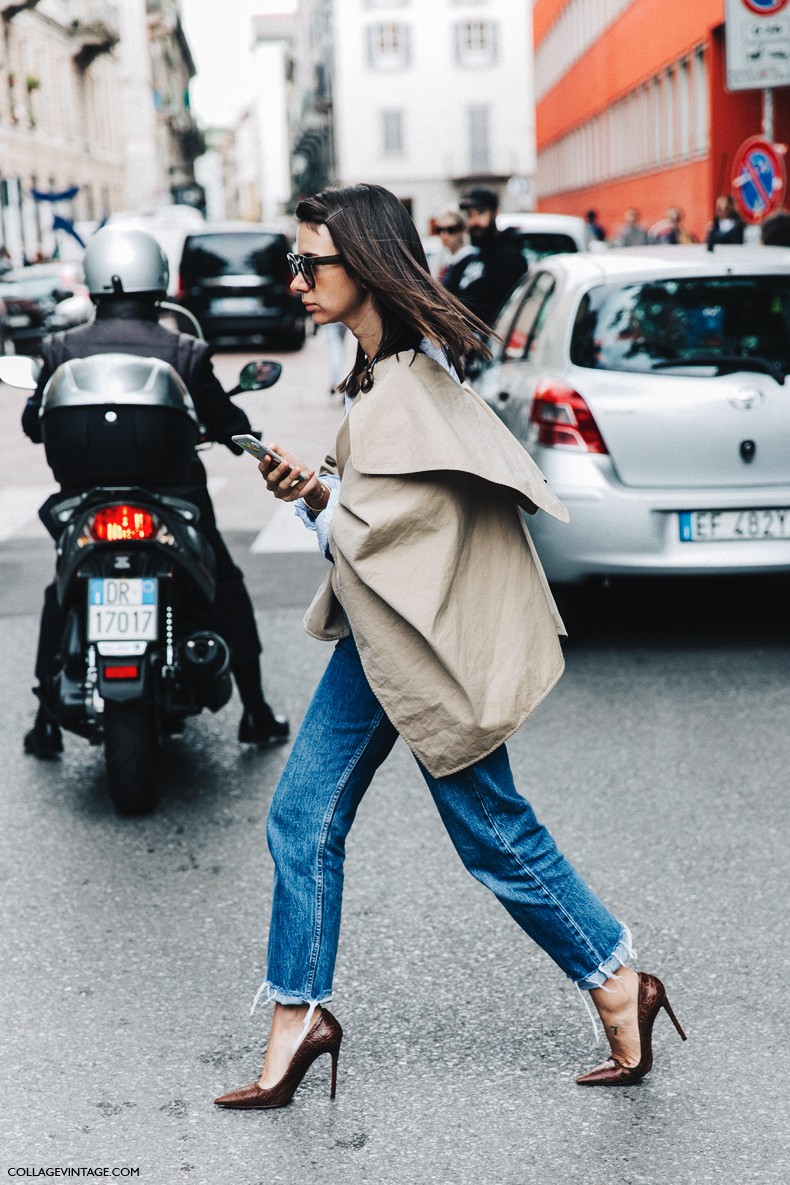 MFW-Milan_Fashion_Week-Spring_Summer_2016-Street_Style-Say_Cheese-Natasha_Goldenberg-Trench_Coat-Blue_Shirt-8