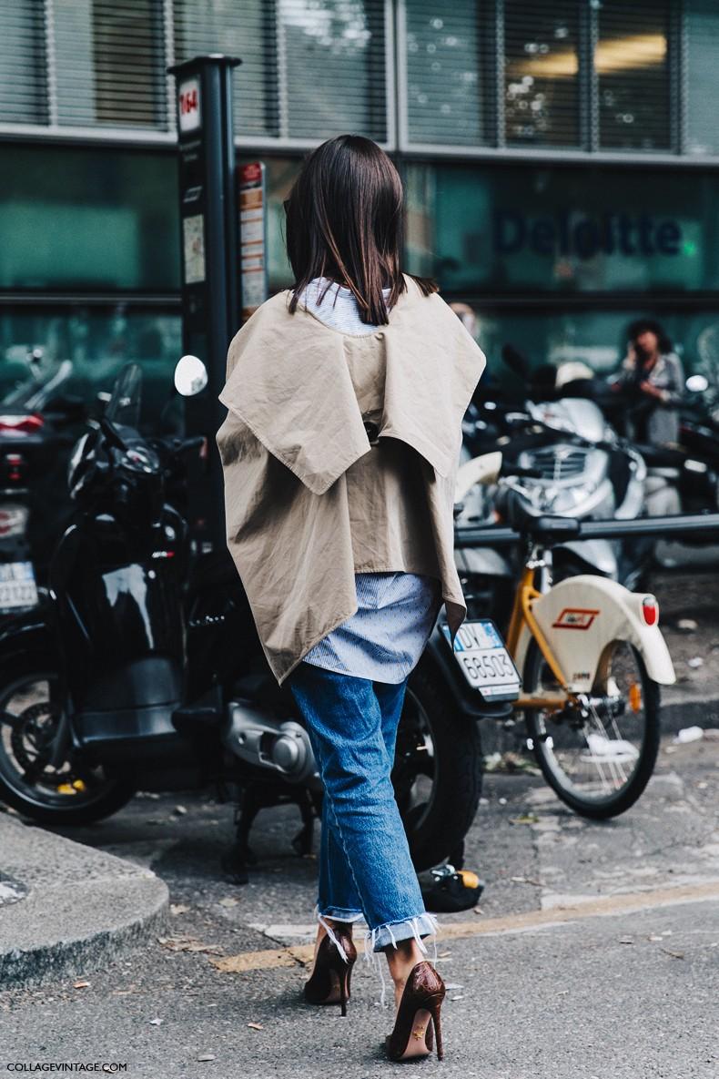 MFW-Milan_Fashion_Week-Spring_Summer_2016-Street_Style-Say_Cheese-Natasha_Goldenberg-Trench_Coat-Blue_Shirt-9