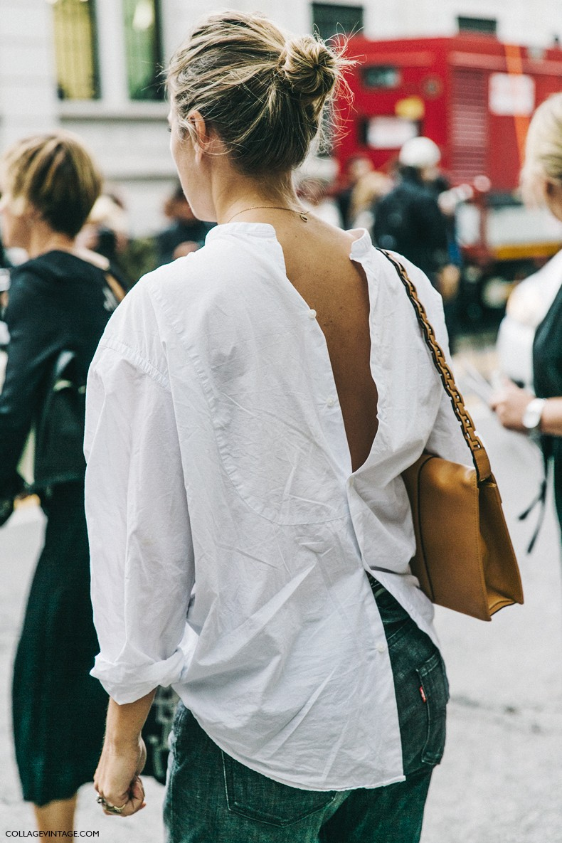 MFW-Milan_Fashion_Week-Spring_Summer_2016-Street_Style-Say_Cheese-Open_Back-White_Shirt-