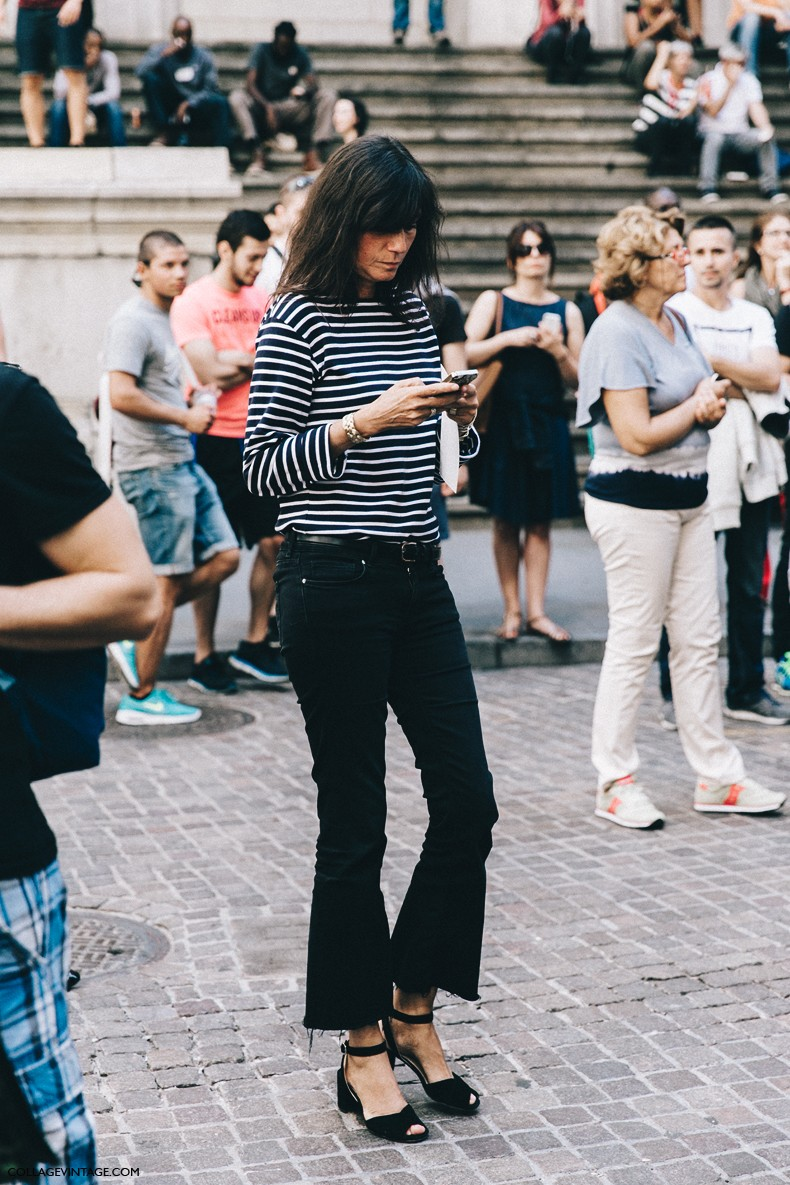 New York Fashion Week Street Style 3 Collage Vintage