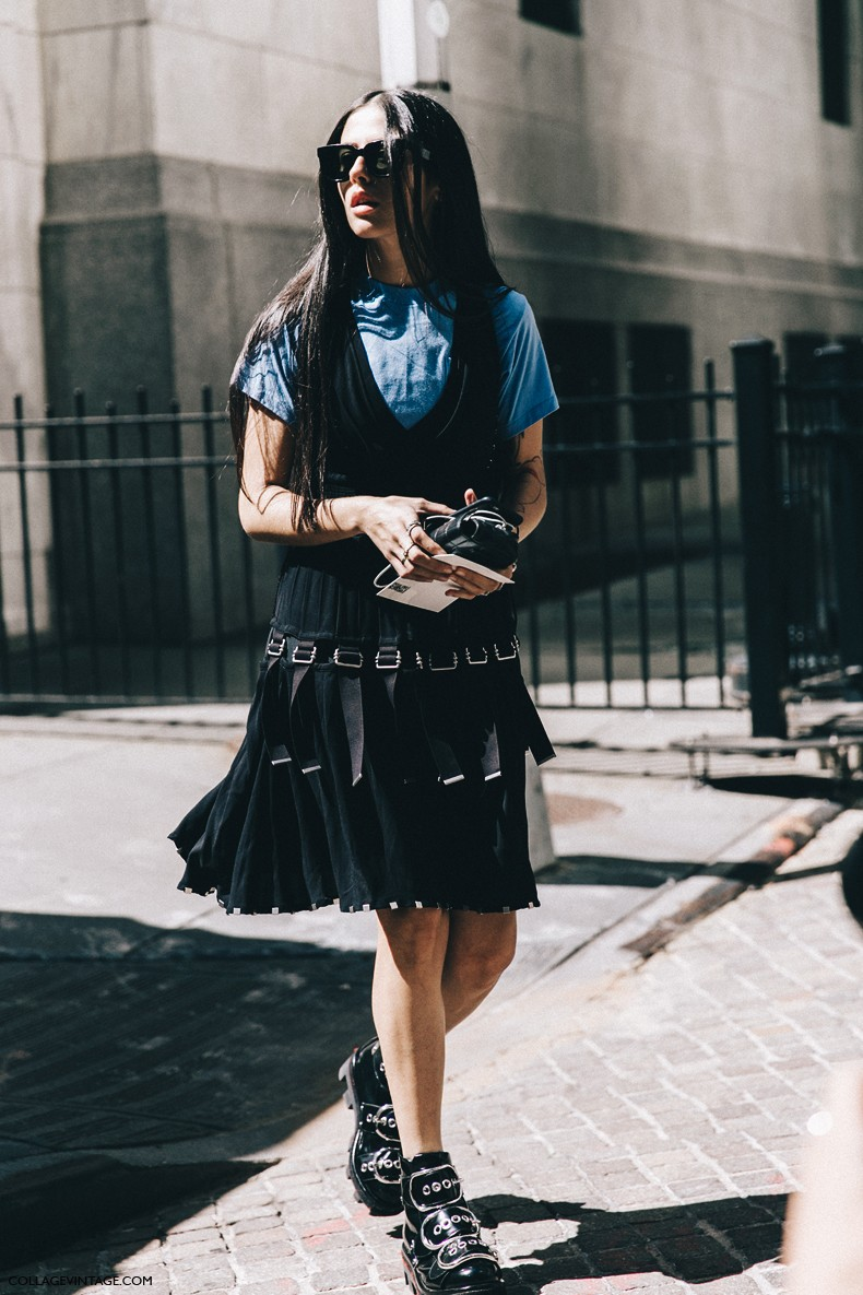 New_York_Fashion_Week-Spring_Summer-2016-Street-Style-Jessica_Minkoff-Diesel_Black_And_Gold-Gilda_Ambrossio-Alexander_Wang_Boots-1