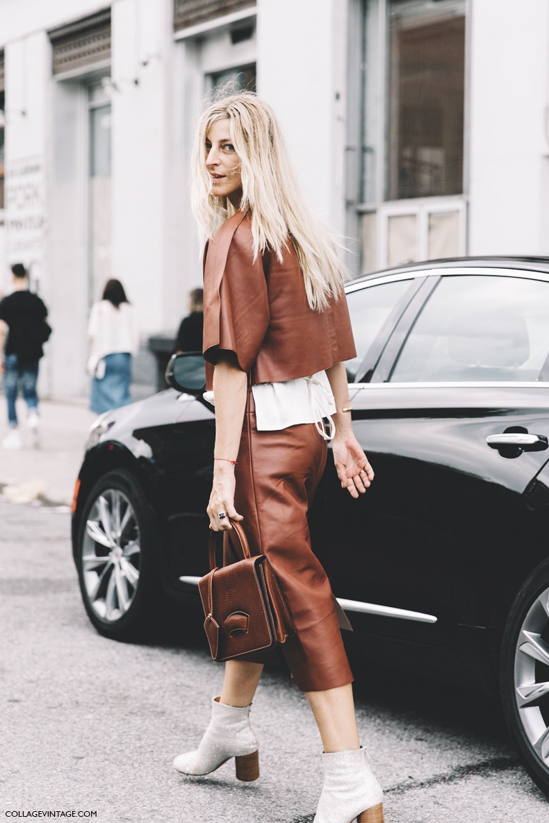 New_York_Fashion_Week-Spring_Summer-2016--Street-Style-Lacoste-Ada_Kokosar-Leather-Brown-2