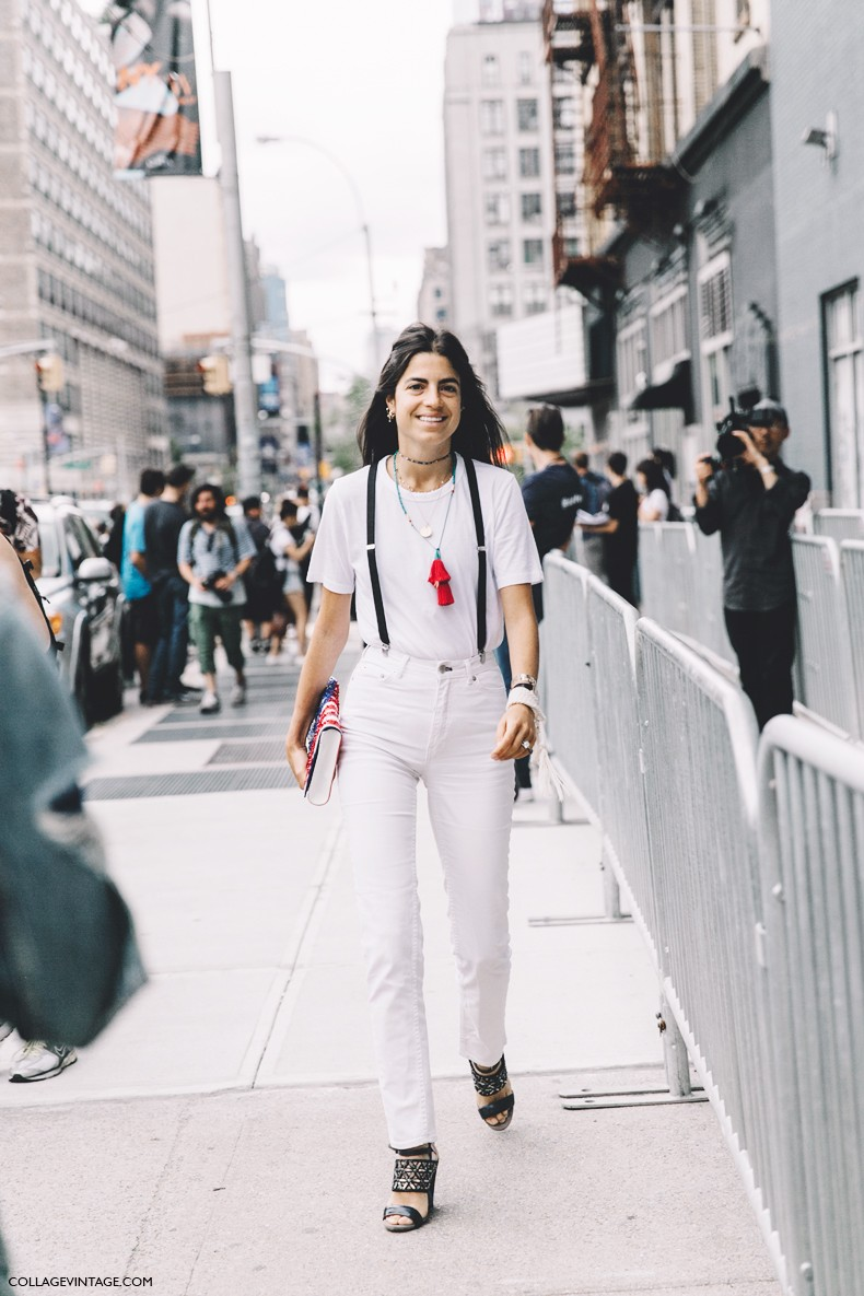 New York Fashion Week Street Style 1 Collage Vintage