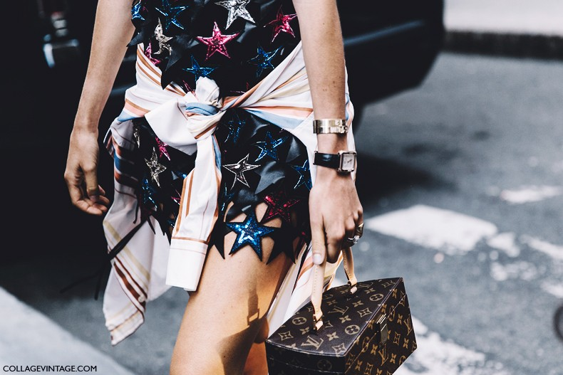 New_York_Fashion_Week-Spring_Summer-2016--Street-Style-Leandra_Medine-Stars_Dress-Chanel_Shoes-Louis_Vuitton_Bag-
