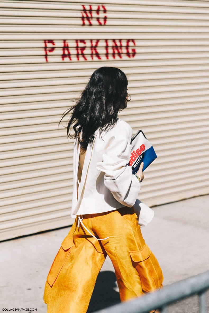 New_York_Fashion_Week-Spring_Summer-2016-Street-Style-Ralph_Lauren-Leandra_Medine-Man_Repeller-Orange_Culottes-Open_Back-