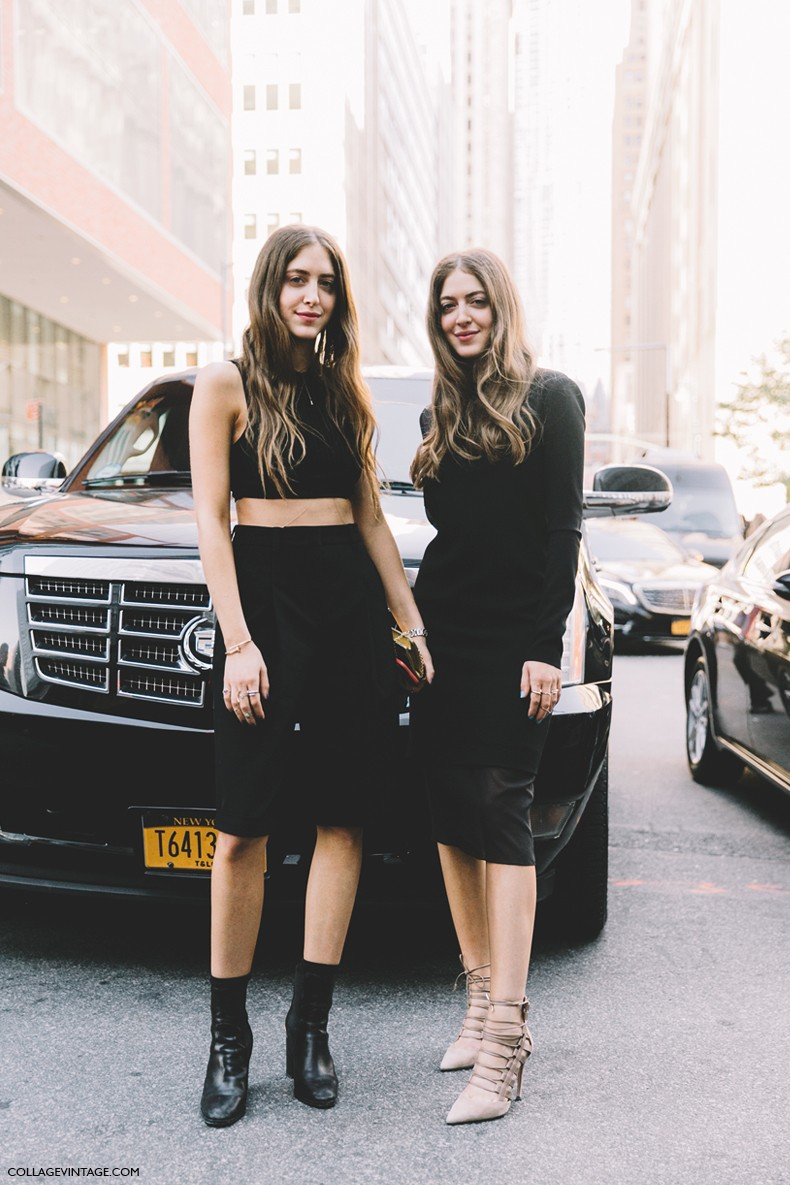 New_York_Fashion_Week-Spring_Summer-2016-Street-Style-Twins-Black-Donna_Karan_NY_