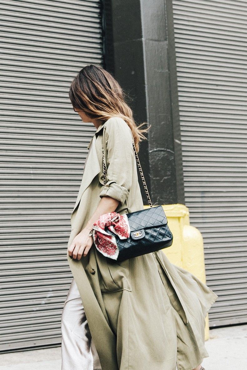 Rebecca_Minkoff-NYFW-New_York_Fashion_Week-Slip_Dress-Long_Trench-Chanel_Vintage-Outfit-Street_Style-3
