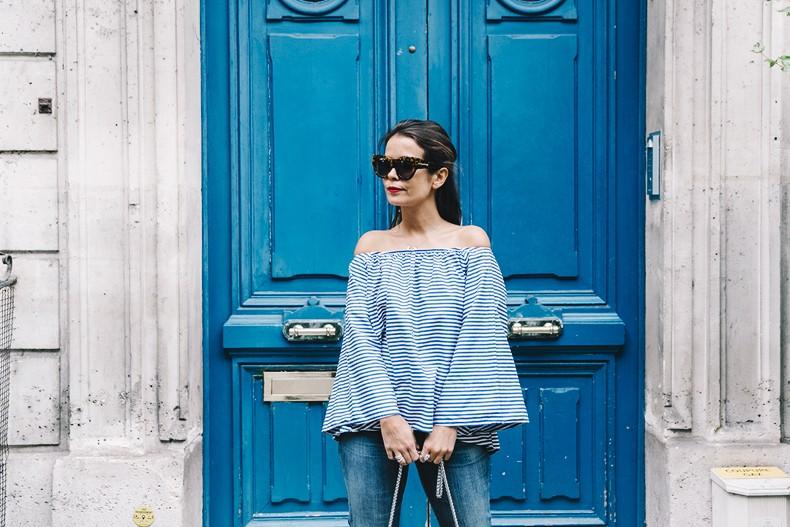 Ldies_in_Levis-Serie_700-Denim-Espadrilles-Off_The_Shoulder_top-Tita_Madrid_Bag-Yellow-Outfit-Paris-711_Skinny_Jeans-38