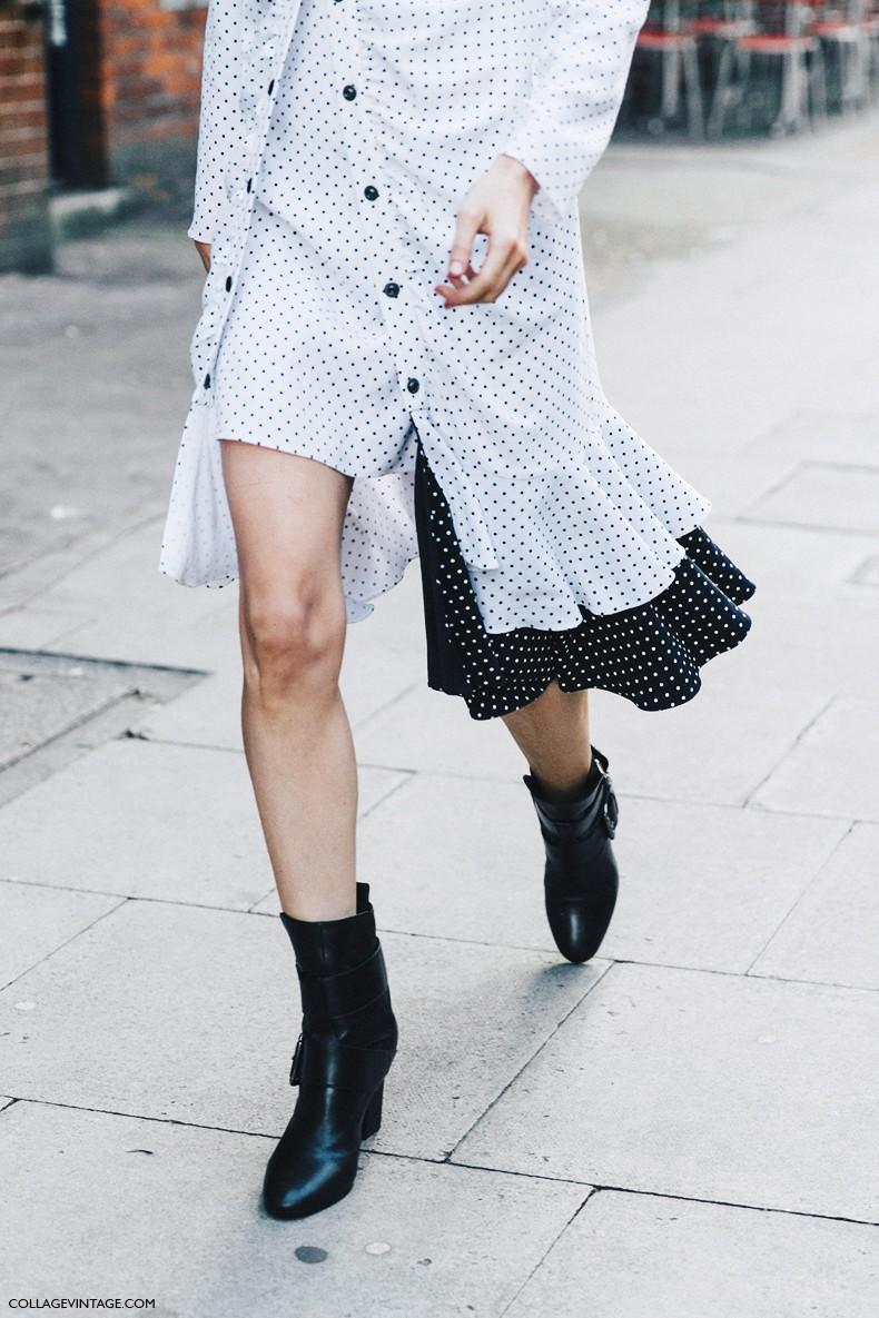 London_Fashion_Week-Spring_Summer_16-LFW-Street_Style-Collage_Vintage-JW_Anderson-Anya_Ziourova-Polka_Dot_Dress-8