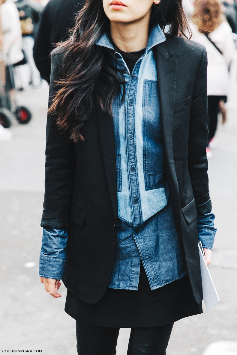 Paris Fashion Week Street Style Spring 2015: PARIS FASHION WEEK STREET STYLE #5