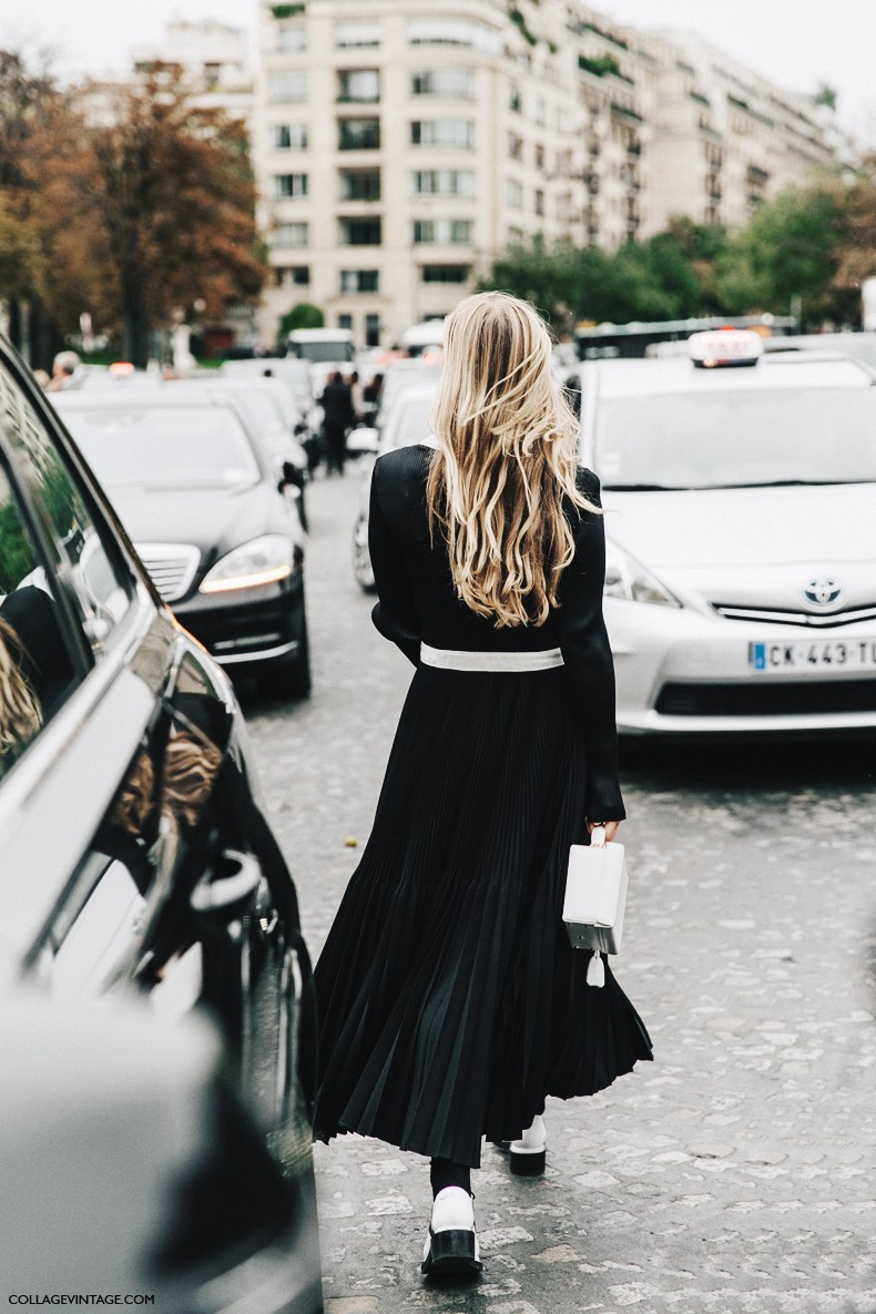 PFW-Paris_Fashion_Week-Spring_Summer_2016-Street_Style-Say_Cheese-Black_And_White-