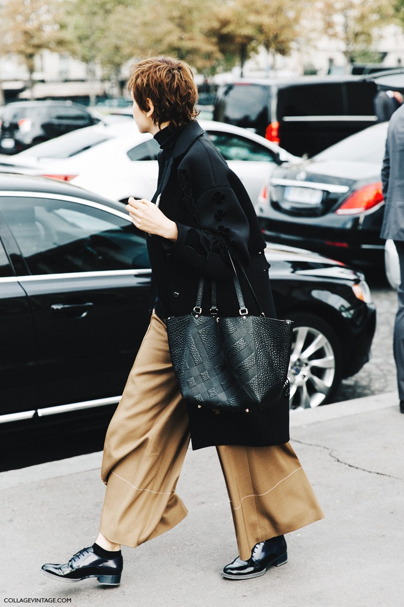 PFW-Paris_Fashion_Week-Spring_Summer_2016-Street_Style-Say_Cheese-Camel_Loafers-