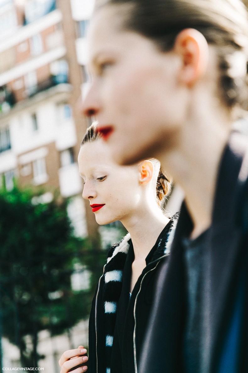 PFW-Paris_Fashion_Week-Spring_Summer_2016-Street_Style-Say_Cheese-Celine-Models-