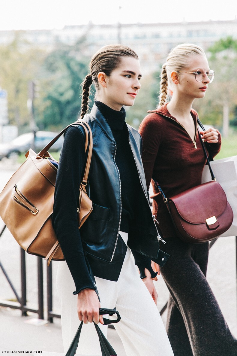 PFW-Paris_Fashion_Week-Spring_Summer_2016-Street_Style-Say_Cheese-Celine-Models-4