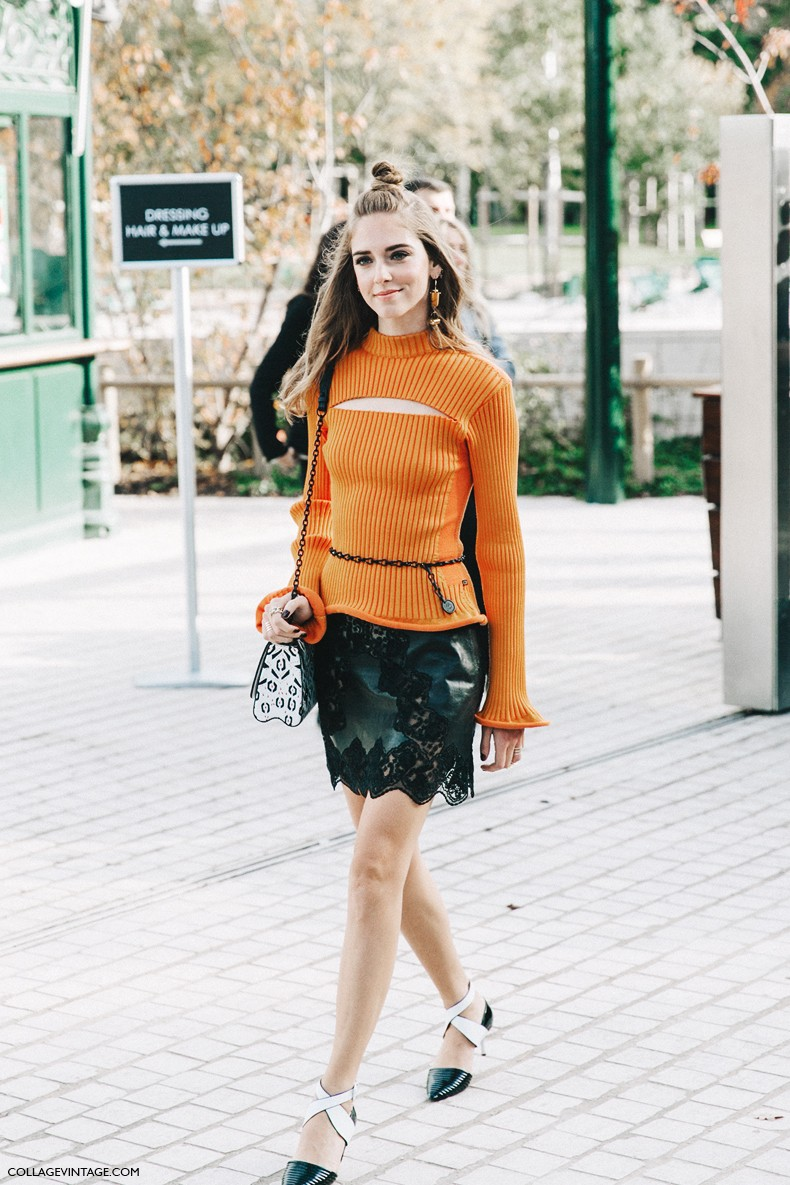 Paris fashion week street style 7 collage vintage Fashion style october 2015