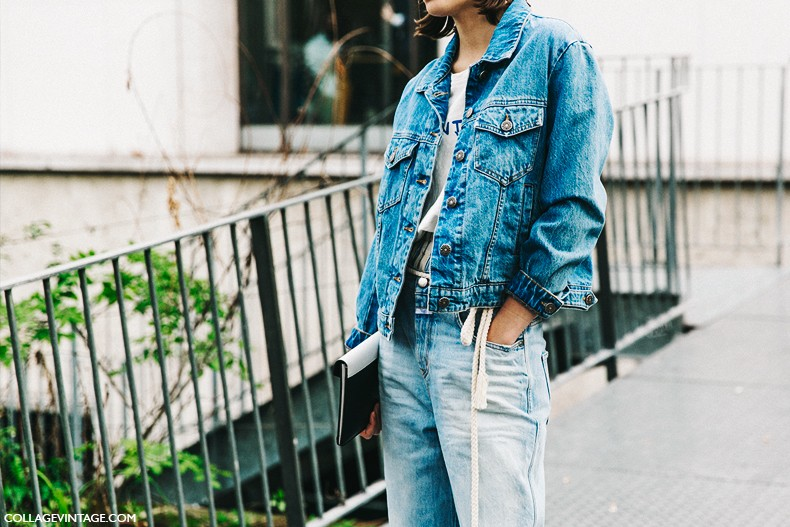PFW-Paris_Fashion_Week-Spring_Summer_2016-Street_Style-Say_Cheese-Double_Denim-