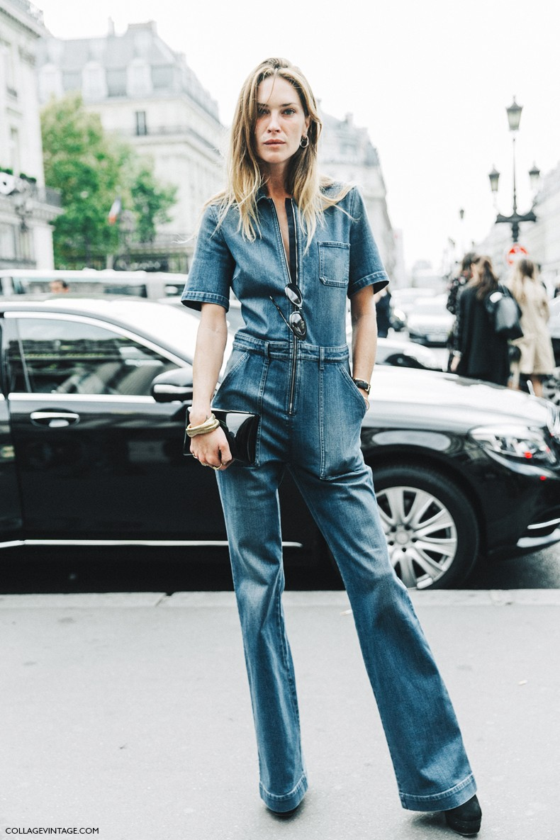 PFW-Paris_Fashion_Week-Spring_Summer_2016-Street_Style-Say_Cheese-Erin_Wasson-Stella_McCarteny-Denim_Jumpsuit-1