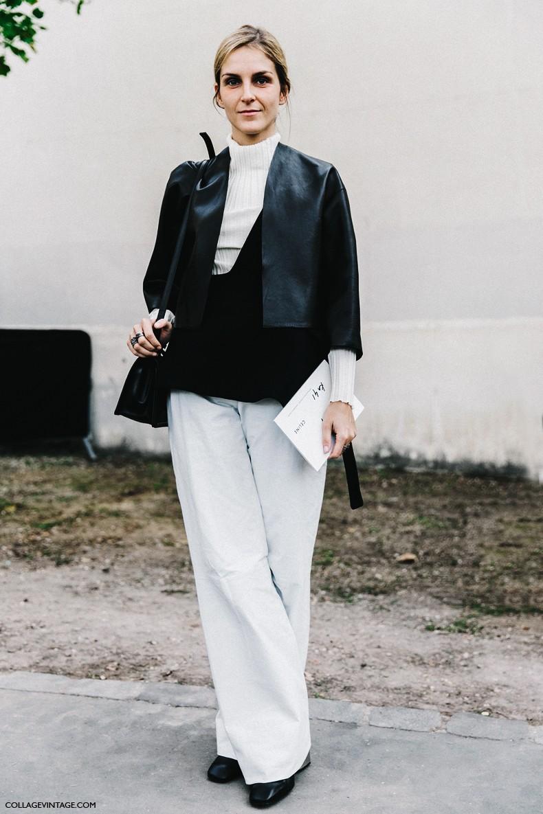 PFW-Paris_Fashion_Week-Spring_Summer_2016-Street_Style-Say_Cheese-Gaia_Reposi-Celine-