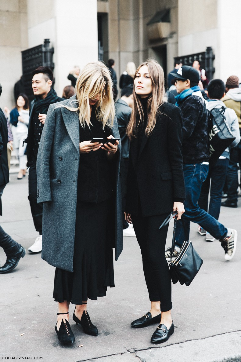 Paris Fashion Week Street Style 1 Collage Vintage Bloglovin