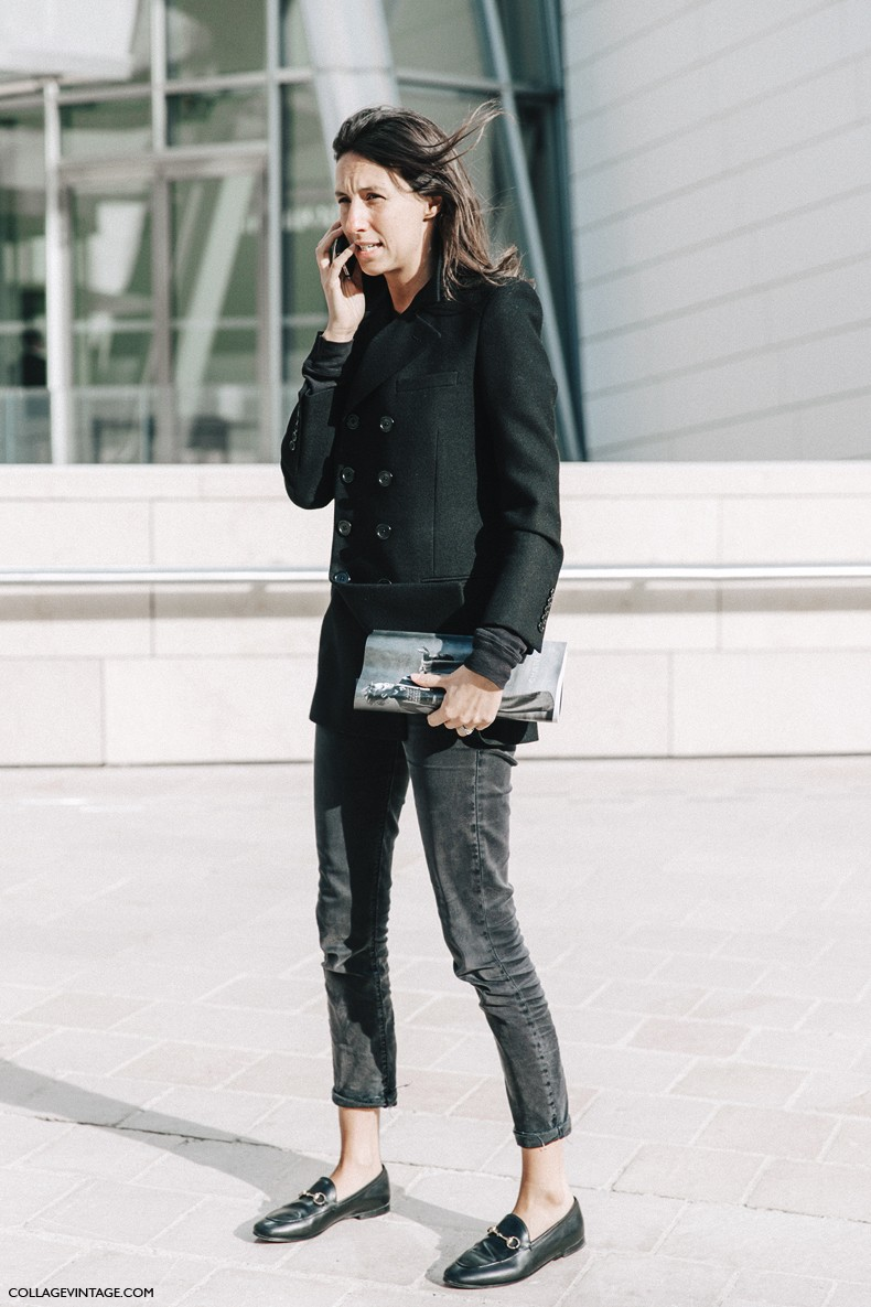 PFW-Paris_Fashion_Week-Spring_Summer_2016-Street_Style-Say_Cheese-Geraldine_Saglio-Black-Loafers