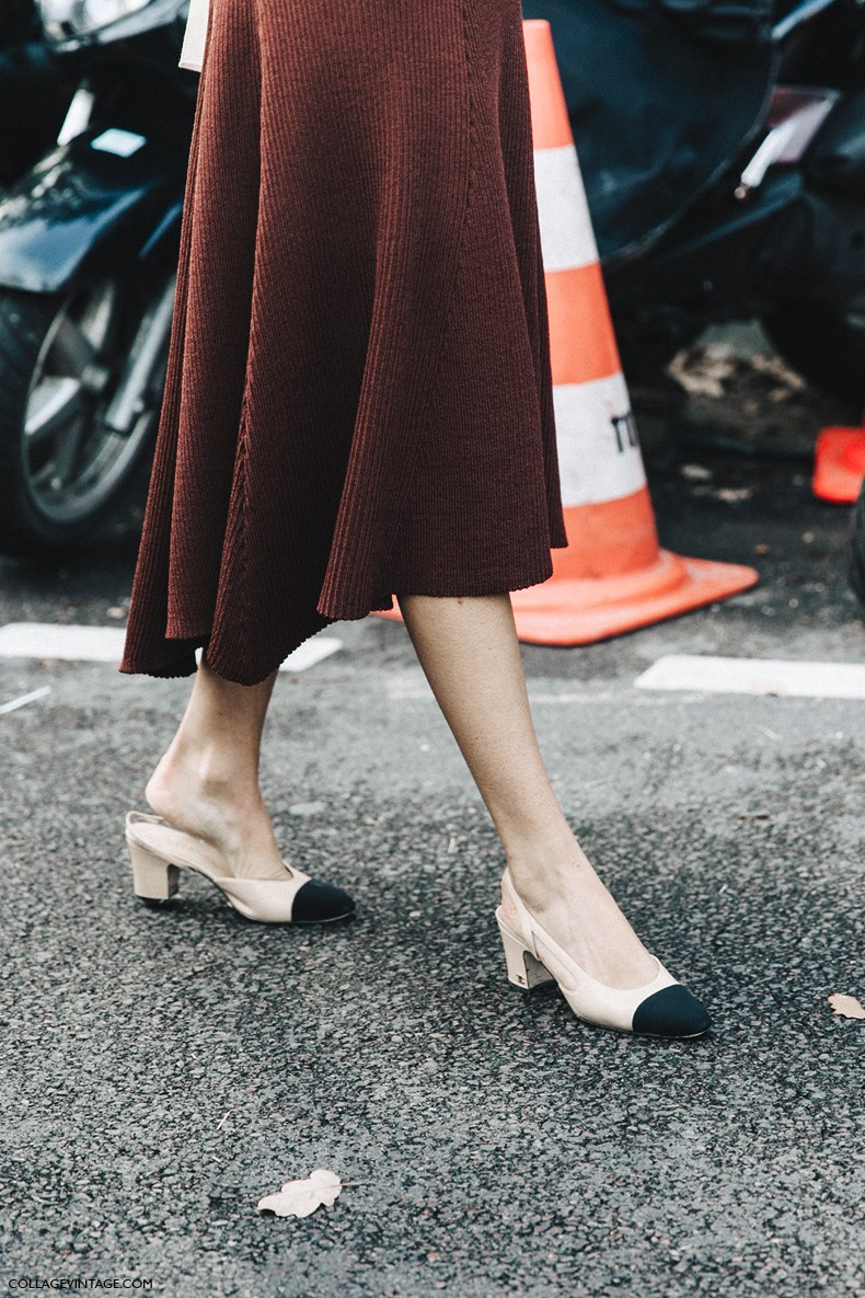 PFW-Paris_Fashion_Week-Spring_Summer_2016-Street_Style-Say_Cheese-Leandra_MEdine-Chanel_Shoes-Celine-Open_Back_Dress-1