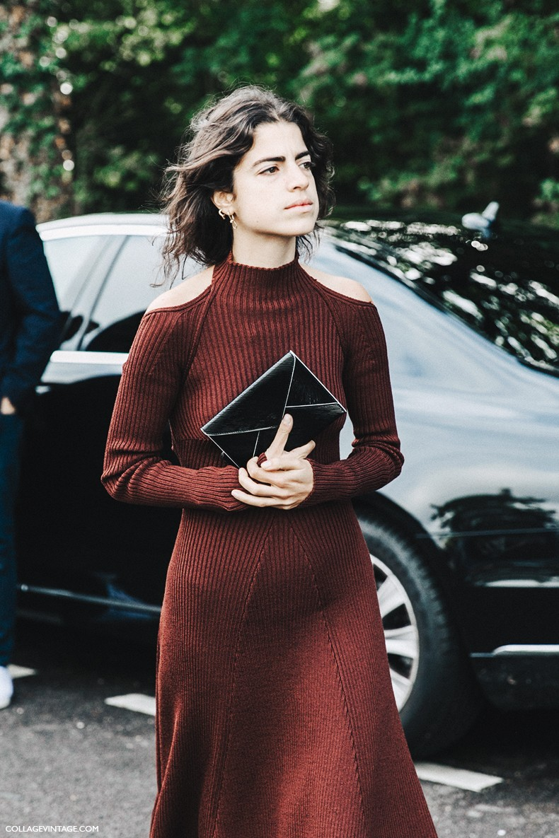 PFW-Paris_Fashion_Week-Spring_Summer_2016-Street_Style-Say_Cheese-Leandra_MEdine-Chanel_Shoes-Celine-Open_Back_Dress-9