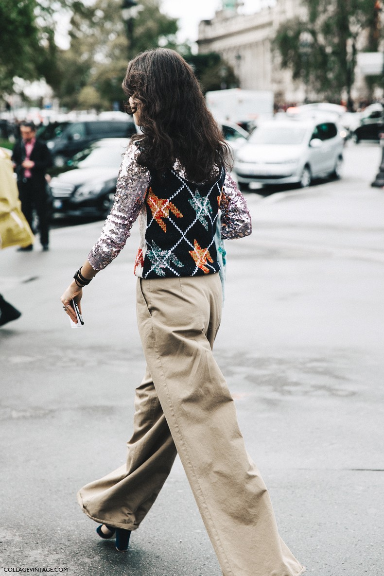 PFW-Paris_Fashion_Week-Spring_Summer_2016-Street_Style-Say_Cheese-Leandra_Medine-Dior-Sequins-Vest-5
